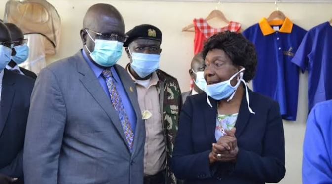 Magoha : Maintaining social distance in schools will be challenging.