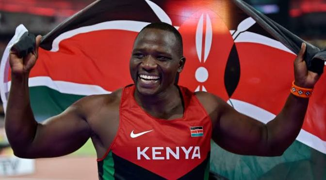 Javelin Champion Julius Yego lands a new global job that everyone is talking about.