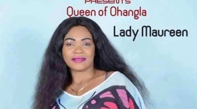 """Ohangla legend Late Lady Maureen's """"Ex-lover"""" request family to allow him bury her."""