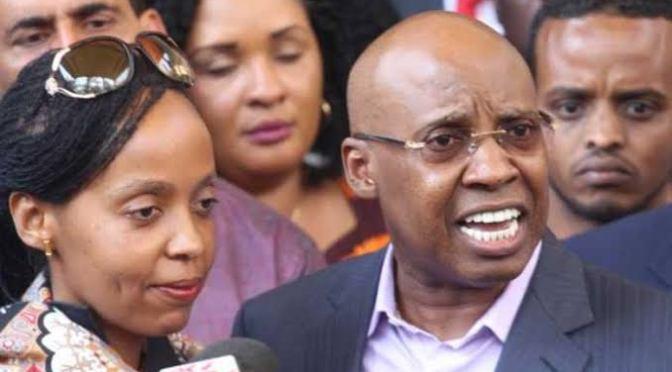 Business Mogul Jimmy Wanjigi and Wife taken to court.