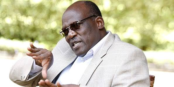 Former Senator Muthama differs with Kalonzo on the revenue sharing formula.