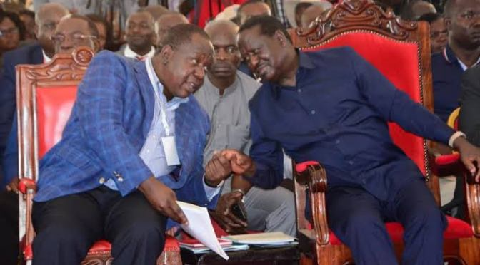 Raila ,Matiangi relatives biggest beneficiaries of Uhuru's latest state appointment.