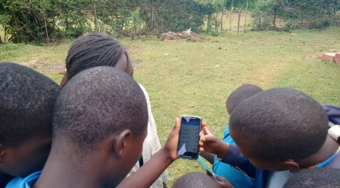 Learners to use Smart phones during lessons according to TSC guidelines for home-based teaching.
