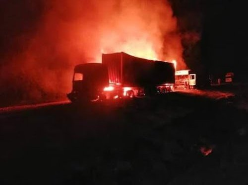 Fuel Tanker Explodes in Teso. One dead.